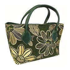 Java Day Bag - Stunning Moss Green Day Bag / Town Bag - BNWT
