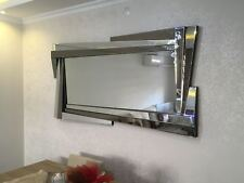 WALL MOUNTABLE NEW SPACE SHAPED HANGING DECORATIVE MIRROR - POSH AND SPACIOUS HO
