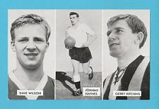 FOOTBALL - D.C. THOMSON -  CUP - TIE  STARS  OF  ALL  NATIONS  CARD  (A) -  1962