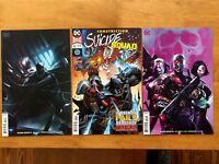 Suicide Squad 41 B, 42 A + B Francesco Mattina 1st Print DC Comics 2018 NM