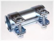 1x BayWorld Auspuff Universal Rohrverbinder 45x49,5x125mm Doppelschelle 45x125mm