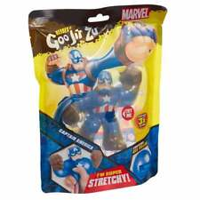 Heroes of Goo Jit Zu Superheroes - Super Stretchy Captain America Figure