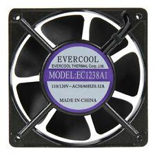 Evercool EC1238A1 AC 110V 115V 120V 120mm x 38mm Aluminum Ball Cooling Fan