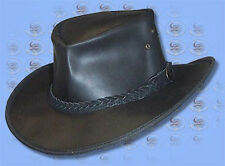 AUSTRALIA Hat - OLD SOFTY Wax Leather W/Resistent HAT
