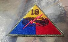 18th armored division patch