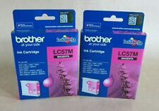 [0793*] TWO BROTHER LC57M  INKS ( RRP>$70 )