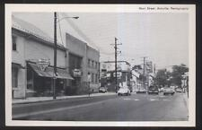POSTCARD ANNVILLE PENNSYLVANIA MAIN STREET VINTAGE VW BEETLE STORE FRONTS 07