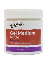 Mont Marte Premium Acrylic Medium - Matt GEL 250ml
