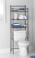 3 Shelf Bathroom Space Saver Over The Toilet Organizer Towel Rack Oil Rub  Bronze