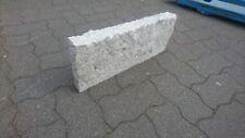 Granit grau Gespitz/geschlagen 6x20x50 Palisaden/ Bordsteine ca.90 STK/ Pal