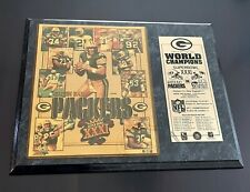 New listing  1996 GREEN BAY PACKERS SUPER BOWL XXXI CHAMPIONS PLAQUE