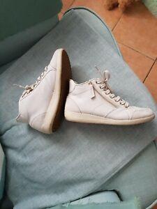 Geox Schuhe Damen Gr. 36 Knöchelschuhe Bequemschuhe beige butterweich Sommer