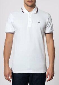 Merc Card White Polo Shirt