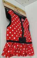 New Disney Parks Tails Large L Pet Dog Comfort Harness Minnie Mouse Costume Rea