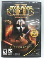 Star Wars Knights Of The Old Republic  The Sith Lords PC CD Version Complete A06