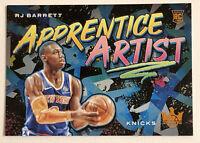 2019-20 Court Kings RJ BARRETT ROOKIE CITRINE Apprentice Artist RC RARE SP /49