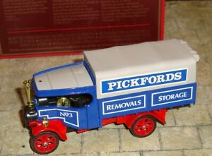 MATCHBOX - MODELS OF YESTERYEAR - 1922 FODEN STEAM LORRY - PICKFORDS - Y-27