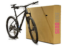 racing bicycle bike large Cardboard Box for shipping transport or storage