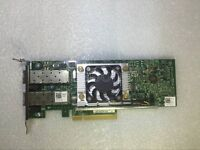Dell Broadcom 57810 Dual Port 10GbE SFP+ Converged LP CNA NIC Y40PH 10G 10Gb