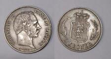 1876 DENMARK 2 KRONER TONED aUNC. INV#FP-1-33