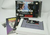 Demolition Man (Super Nintendo/SNES) Complete