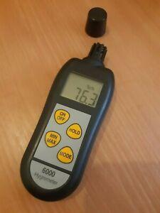 Hygrometer & thermometer - ETI 6000 - professional