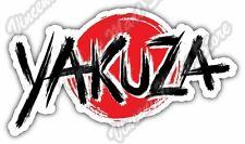"Yakuza Japan Mafia Criminal Crime Gift Idea Car Bumper Vinyl Sticker Decal 6""X3"""