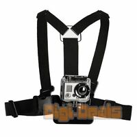 Chest Strap Mount for GoPro Go Pro HD Hero 2 3 3+ 4 5 6 Session