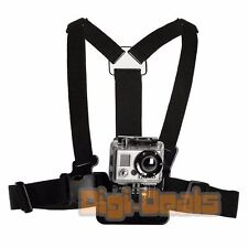 Chest Strap Mount for GoPro Go Pro HD Hero 2 3 3+ 4 Session