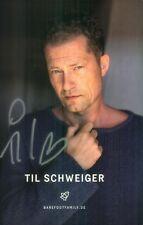 Handsignierte Autogrammkarte von Til Schweiger - SCHAUSPIELER