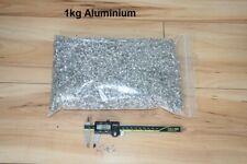 More details for metal aluminium swarf, shavings 1 kg aluminium for arts crafts, hobbies