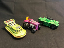 Old Vtg Diecast Toy Car LOT Matchbox Rolamatics  Rescue Boat Tanker Tractor