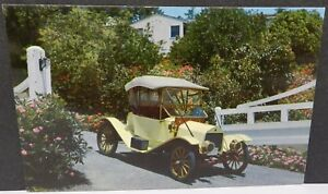 1912 FLANDERS OLD CAR PENNZOIL Z7 Z 7 SNAVELY MANHEIM PA DEALER PROMO POSTCARD