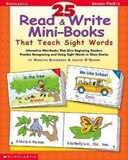 25 Read & Write Mini-books That Teach Sight Words