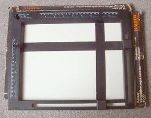 Kaiser 4000 18 x 24cm photographic enlarging masking frame