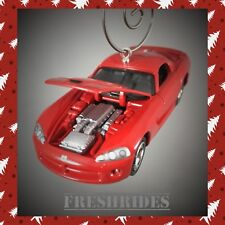 2008 Dodge Viper SRT Custom Christmas Ornament Adorno 1/64 Racing SRT 10 Rare