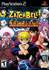 Zatchbell Mamodo Fury PS2 New Playstation 2