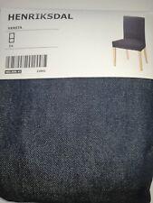 IKEA HENRIKSDAL  Bezug für Stuhl, Stuhlbezug, Vansta dunkelblau, NEU 403.999.41