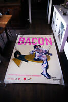 EXHIBITION FRANCIS BACON 4x6 ft Bus Shelter Art Poster Original 2020