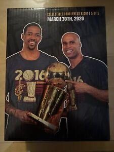 Richard Jefferson & Channing Frye Bobblehead Cavs Cavaliers 2016 Champions NEW