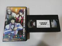COWBOY BEBOP VOL 2 - VHS CINTA ANIME MANGA CASTELLANO SELECTA VISION
