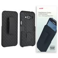 Verizon Shell Holster Clip Combo Case with Kickstand For Samsung Galaxy J3 6 V