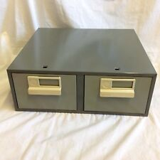 Pair of stacking small File Drawers