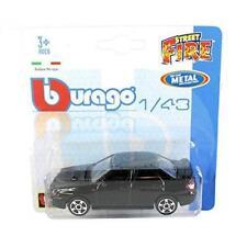 Burago 1/43 Diecast Model Car - 'Street Fire' - Subaru Impreza WRX Sti 4dr Black