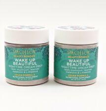 2 Pacifica Beauty Powder Wake Up Beautiful Nighttime Dream Prep Vegan 3.9oz each