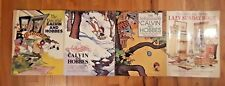 Calvin and Hobbes 4 books lot Collections Lazy Sunday comics cartoons