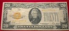 $20 1928 Gold Rare STAR Note     ***LOOK***  NO RESERVE !!!