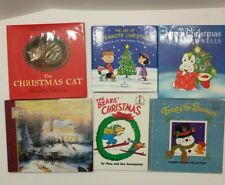 Lot of 6 Children's Christmas Books - The Christmas Cat - Frosty the Snowman