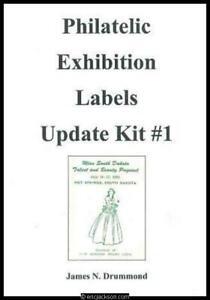Drummond, James N. Philatelic Exhibition Labels, Update Kit #1