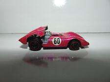VINTAGE 1969 Hot Wheels Red Line FERRARI 312P Hot Pink HW 312 REDLINE Nice @@@